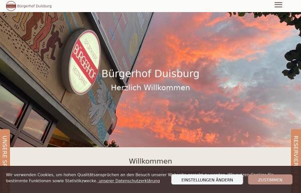 Vorschau von buergerhofduisburg.eatbu.com, Bürgerhof Duisburg - Kneipe Pur