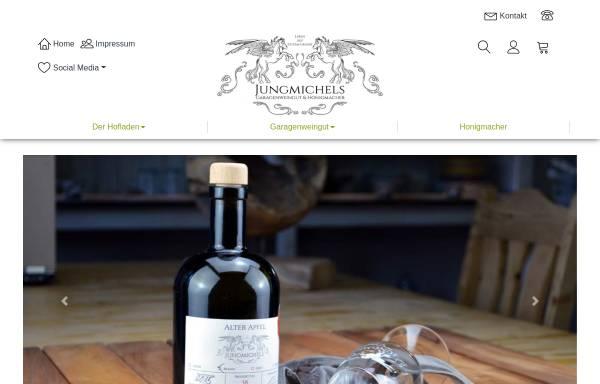 Vorschau von jungmichels.de, Jungmichels Wine & Lifestyle GmbH