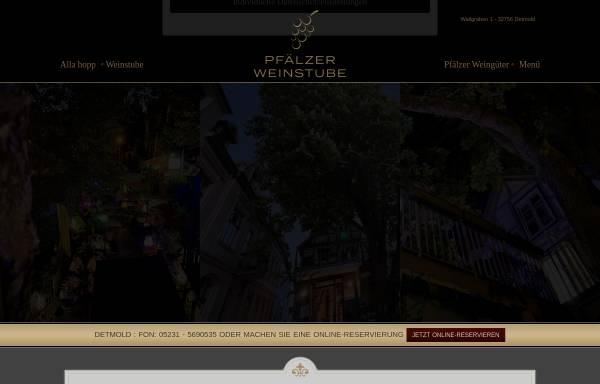 Vorschau von www.pfaelzer-weinstube.de, Pfälzer Weinstube