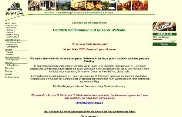 Vorschau von www.hueckels-may.de, Hückels May
