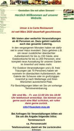 Vorschau der mobilen Webseite www.hueckels-may.de, Hückels May