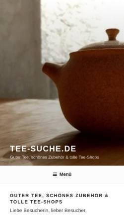 Vorschau der mobilen Webseite kantine.zumtee.de, Kantine.zumTee.de, HBZ-Restaurant