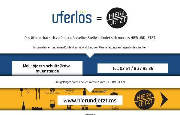 Vorschau von www.uferlos-muenster.de, Uferlos Kneipe und Café