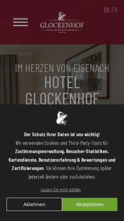 Vorschau der mobilen Webseite www.glockenhof.de, Glockenhof