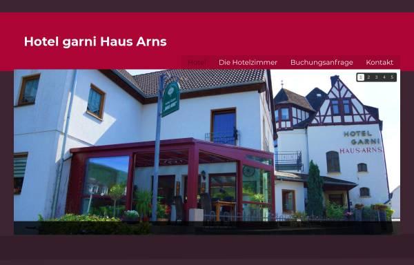Vorschau von hotel-arns.de, Hotel Garni Arns