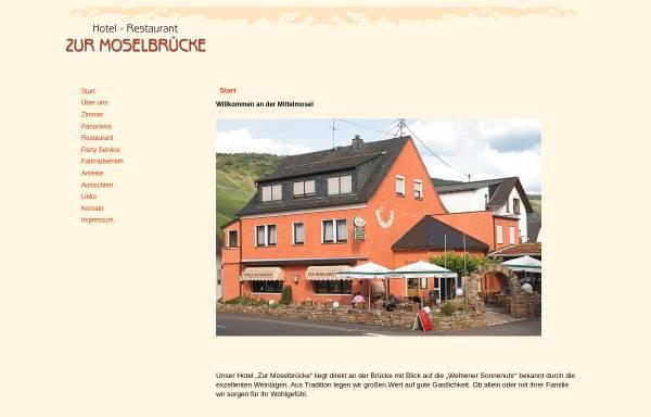 Vorschau von www.hotel-moselbrueck.de, Hotel Zur Moselbrücke