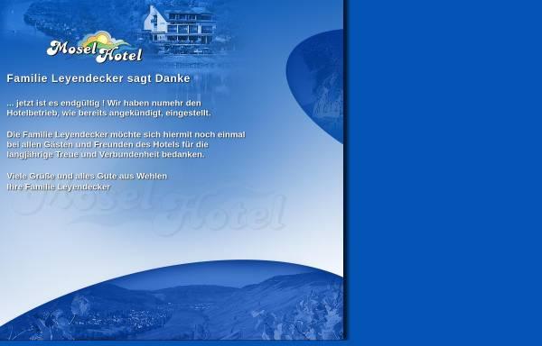 Vorschau von www.moselhotel.de, Moselhotel Leyendecker