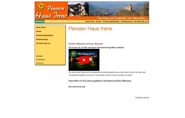 Vorschau von www.pension-irene.de, Pension Haus-Irene