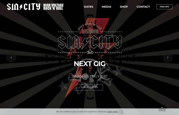 Vorschau von www.sin-city.de, SIN/CITY