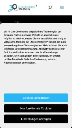 Vorschau der mobilen Webseite www.beckerbredel.de, BuB Presseagentur Becker und Bredel GbR