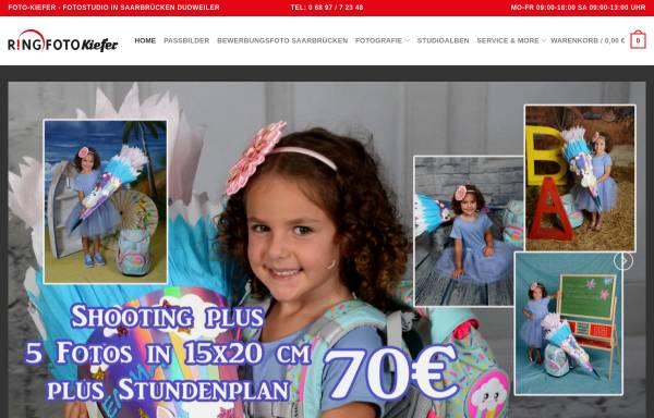 Vorschau von www.foto-kiefer.de, Foto-Kiefer Dudweiler