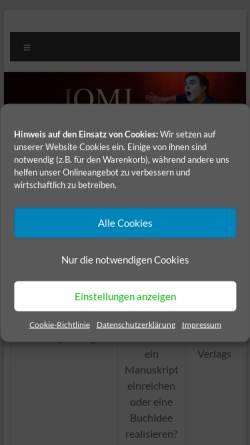 Vorschau der mobilen Webseite www.tv-film.de, Lichtenstern TV