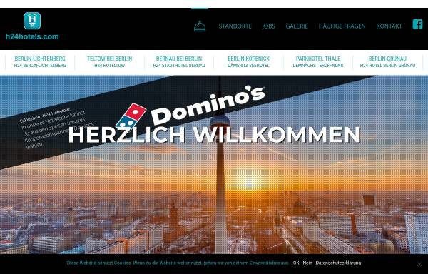 Vorschau von www.hoteltow.de, Hoteltow, Teltow