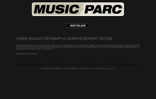 Vorschau von www.musicparc.de, Musicparc