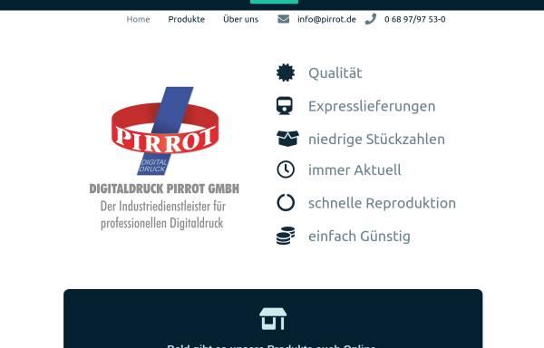Vorschau von www.pirrot.de, Digitaldruck Pirrot GmbH Dudweiler
