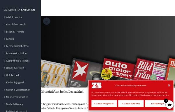 Vorschau von www.lesezirkel-zeitspiegel.de, Lesezirkel Zeitspiegel Dipl.-Kfm. Beate Stahl