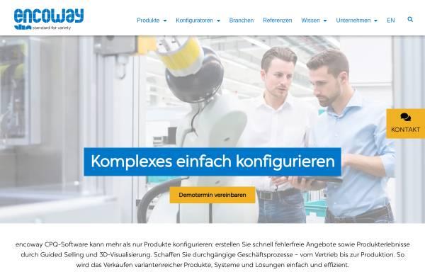 Vorschau von www.encoway.de, Encoway GmbH & Co KG