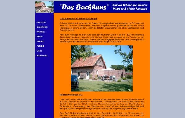 Vorschau von www.backhaus-nedden.de, Das Backhaus