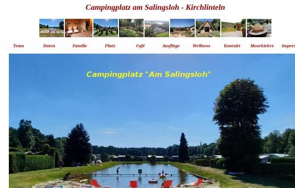 Vorschau von www.campingplatz-kuekenmoor.de, Campingplatz Am Salingsloh