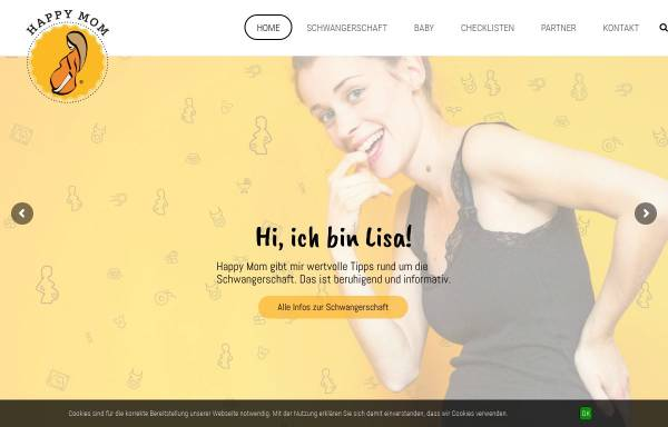 Vorschau von www.happy-mom.de, Happy Mom Marketing