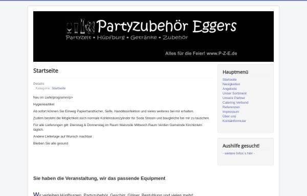 Vorschau von www.alles-fuer-die-feier.de, Rainer Eggers