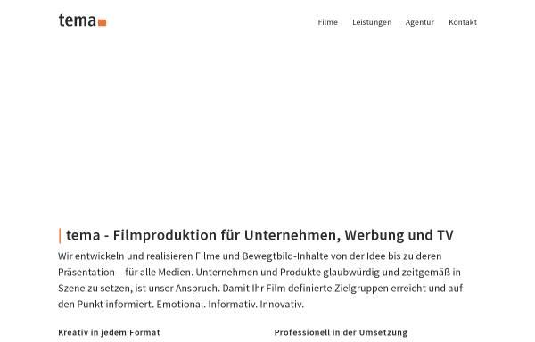 Vorschau von www.tema-medien.de, Tema