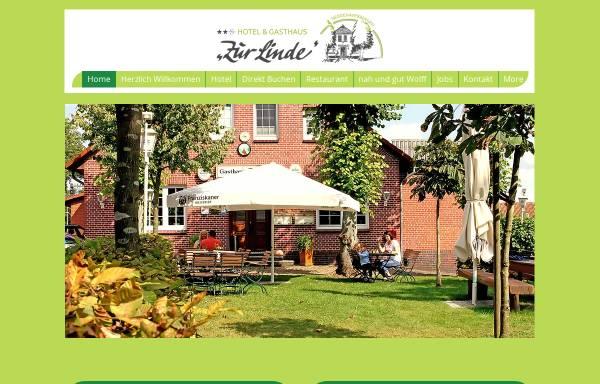 Vorschau von www.zurlinde-nedden.de, Zur Linde