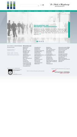 Vorschau der mobilen Webseite www.schowei.de, Dr. Scholz & Weispfenning