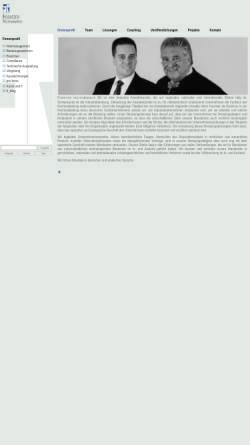Vorschau der mobilen Webseite www.fr-lawfirm.de, Foerster und Rutow Rechtsanwälte