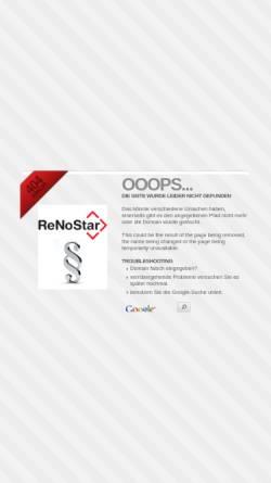 Vorschau der mobilen Webseite www.tietze-menschel.de, Rechtsanwälte Tietze & Menschel
