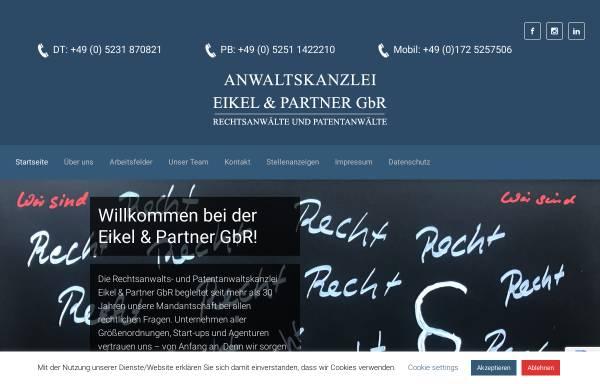 Vorschau von www.eikel-partner.de, Eikel & Partner GbR
