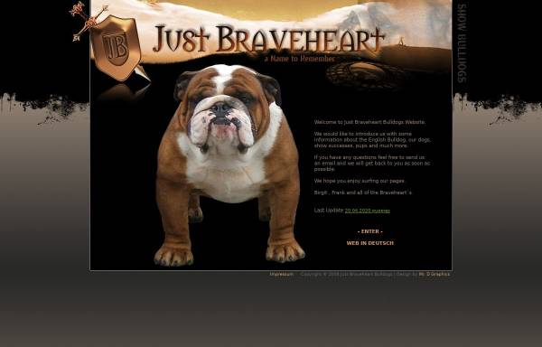 Vorschau von www.englische-bulldogge.de, Braveheart`s English Bulldogs