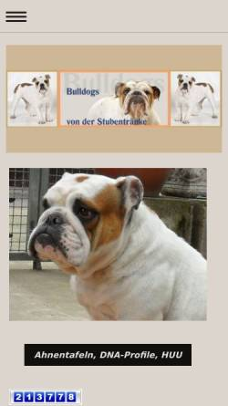 Vorschau der mobilen Webseite www.vonderstubentraenke.de, Von der Stubentränke