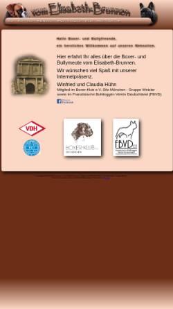 Vorschau der mobilen Webseite www.vom-elisabeth-brunnen.de, Vom Elisabeth-Brunnen