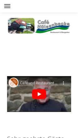 Vorschau der mobilen Webseite www.huelsenbecke.de, Von der Hülsenbecke