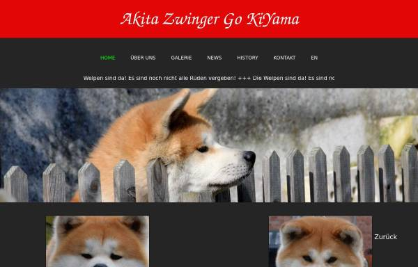 Vorschau von www.kiyama.de, Go KiYama