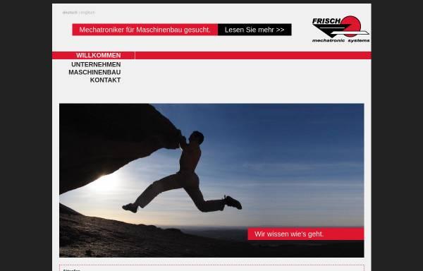 Vorschau von frisch-gmbh.de, Frisch GmbH