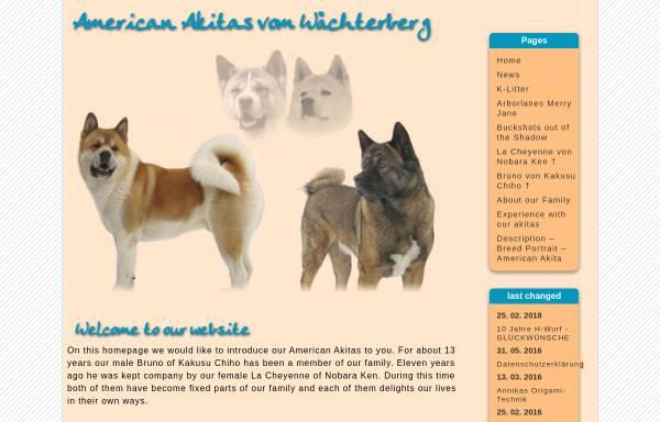 Vorschau von www.akitafreund.de, American Akita vom Wächterberg