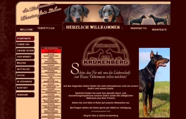 Vorschau von www.dobermanns.de, von der Horringhauser Höh