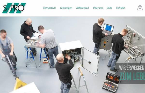 Vorschau von www.s-pro-automation.de, S-Pro Automation GmbH