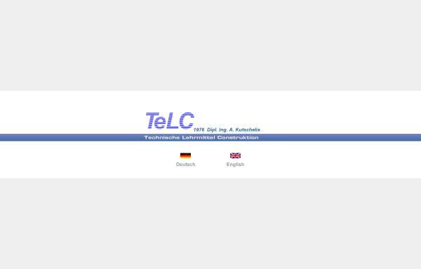 Vorschau von www.kutschelis.de, TeLC Maschinenbau, Inh. A. Kutschelis und Sohn, Dipl.-Ingenieure