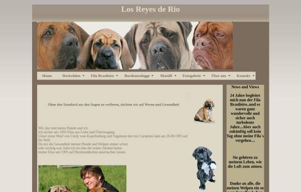 Vorschau von www.fila-brasileiros.de, Los Reyes de Rio Fila Brasileiro