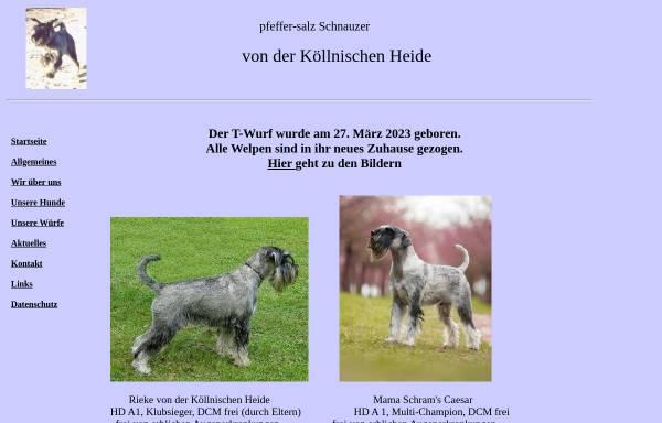 Vorschau von www.v-d-koellnischen-heide.de, Von der Köllnischen Heide