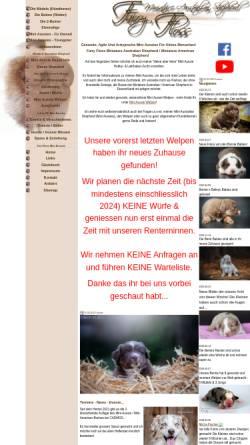 Vorschau der mobilen Webseite www.fairy-floss-aussies.de, Fairy-Floss