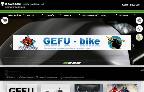 Vorschau von www.gefu-bike.de, Gefu-bike GmbH