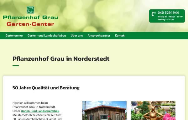 Vorschau von www.pflanzenhof-grau.de, Pflanzenhof Grau
