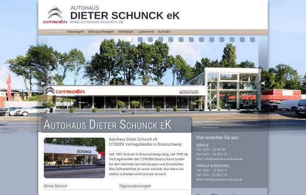 Vorschau von www.autohaus-schunck.de, Autohaus Schunk Braunschweig