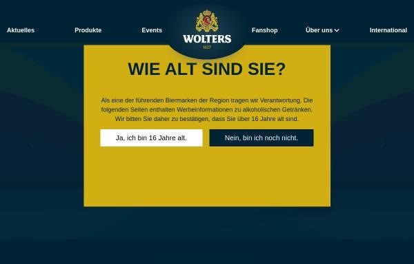 Vorschau von hofbrauhaus-wolters.de, Hofbrauhaus Wolters GmbH