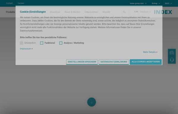 Vorschau von www.index-werke.de, INDEX-Werke GmbH & Co. KG Hahn & Tessky