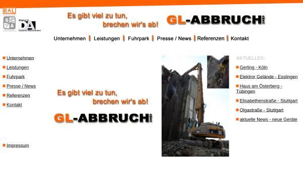 Vorschau von www.gl-abbruch.de, GL-Abbruch GmbH
